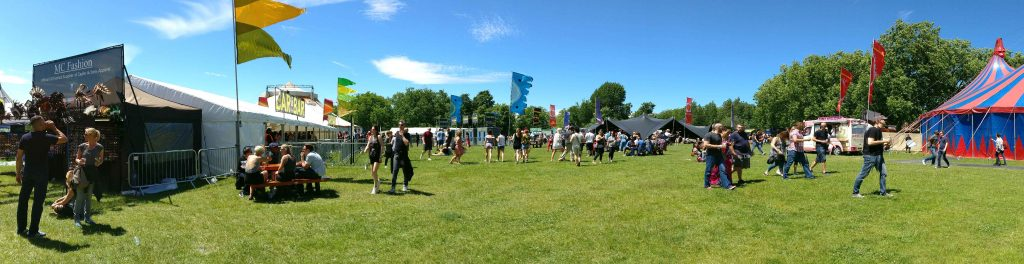 Finsbury Park 2017 Festival, WiFi Network & Firewall Technology