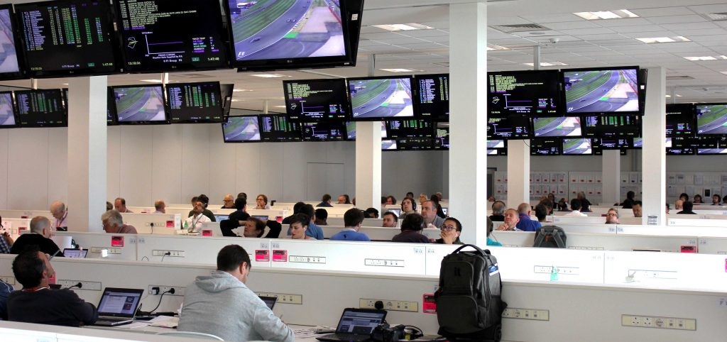 Formula One, Silverstone 2017, Media Suite Internet